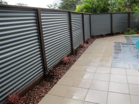 chain link fence privacy slats lasting corrugated metal privacy fence fence ideas