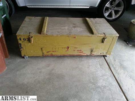 Armslist  For Saletrade Mosin Crate Coffee Table