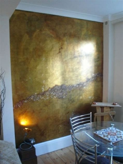 Metallic Wandfarbe für ein luxuriöses Ambiente in Ihrer