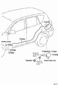 2014 Toyota Rav4 Fuel Filler Door  Lid  Charging Port