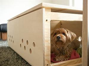 21 stylish dog crates home stories a to z for How to build a dog crate end table