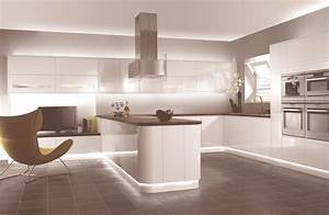 Furniture modern white kitchen cabinets and white for Kitchen cabinet trends 2018 combined with beauty salon wall art