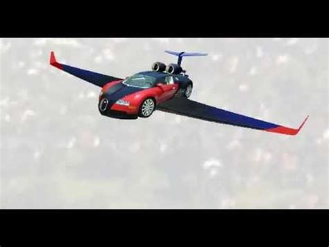 Bugatti Flying Car by Flying Bugatti Veyron