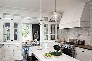 Kitchen island pendant lighting design : Design sponge december pendant lights soak up