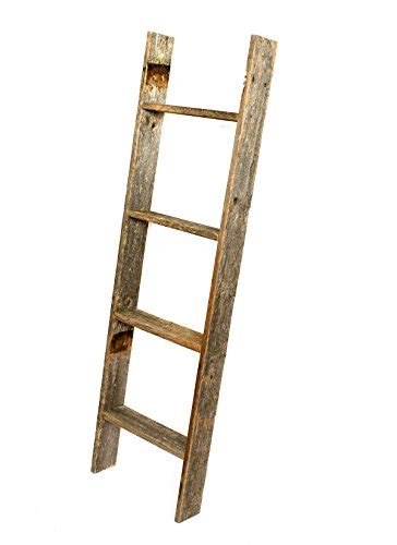 Rustic Ladder Bookcase by Brand New Barnwoodusa Rustic Reclaimed Wooden Bookcase