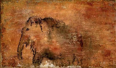 ot mammut felsen steinzeit malerei von ullysses bei