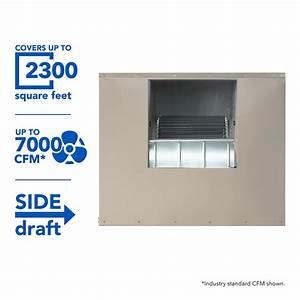 Mastercool 7000 Cfm 2 Roof 12 In
