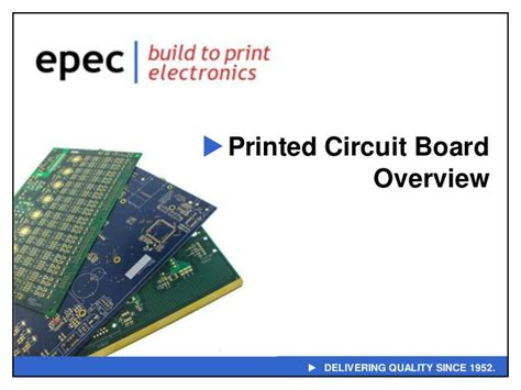 Printed Circuit Board Overview