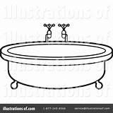 Tub Clipart Clip Bath Illustration Bathtub Lal Perera Royalty Rf Webstockreview sketch template