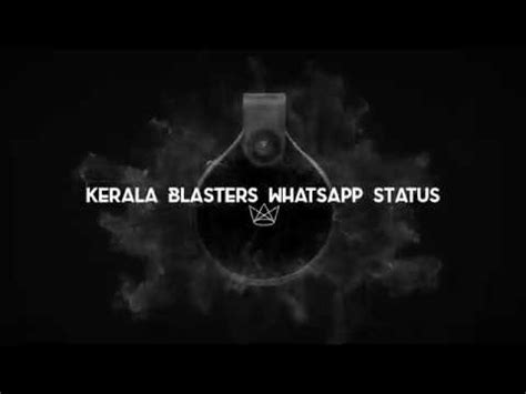 kerala blasters status  youtube
