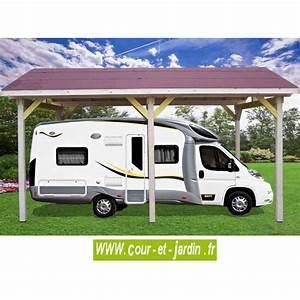 Carport Camping Car : carport camping car bois abri camping car carport bois ~ Dallasstarsshop.com Idées de Décoration