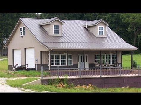 pole barn house plans youtube