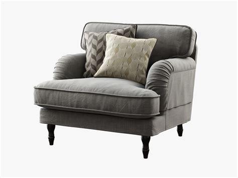 Ikea Stocksund Armchair 3d Model