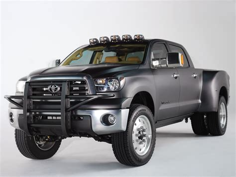 Toyota encourages responsible operation to help protect you, your vehicle and the environment. Toyota Tundra Dually Diesel Concept - SEMA, specs, release ...