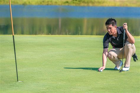 Rules of Golf explained: Can I line up my ball without ...