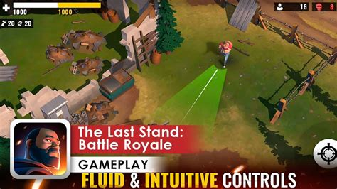 the last stand battle royale gameplay max settings ios android