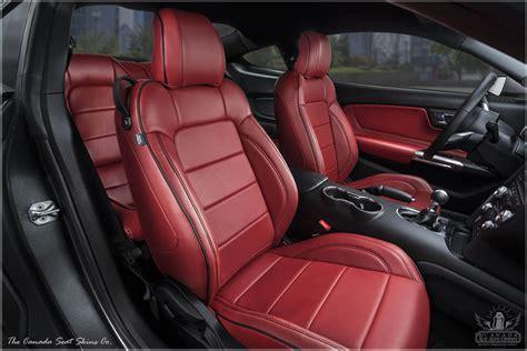 2018 Ford Mustang Katzkin Custom Leather Upholstery