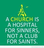 Not Going Church Quotes