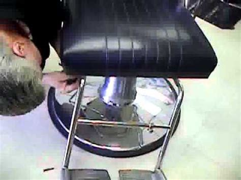 handicap accessible salon styling chair footrest