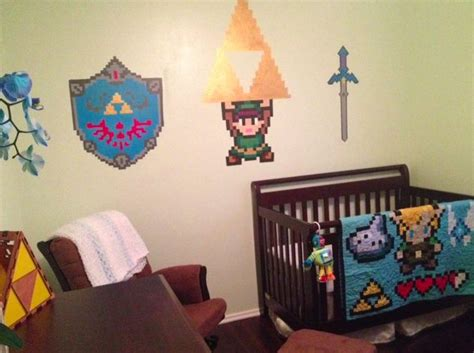 legend  zelda nursery video game home decor