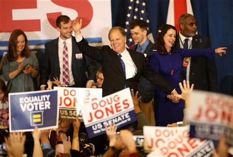 doug jones political party meet doug jones alabama s first democratic senator in 25