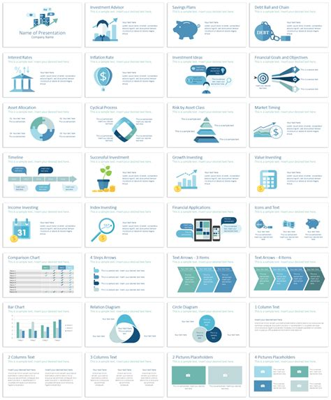 investment template investment powerpoint template presentationdeck