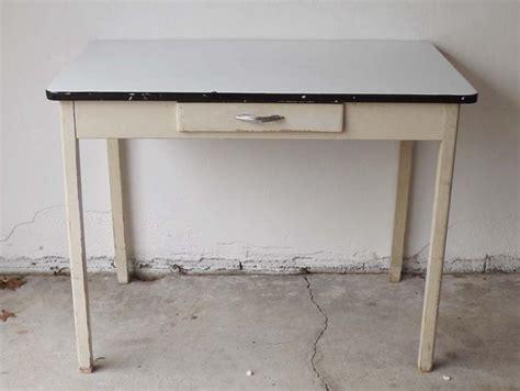 1930 enamel kitchen table 1930 39 s white enamel kitchen table ebth