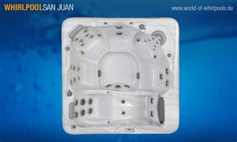 World Of Whirlpools by Aussen Whirlpool San Juan 25 Jahre Aussen Whirlpool