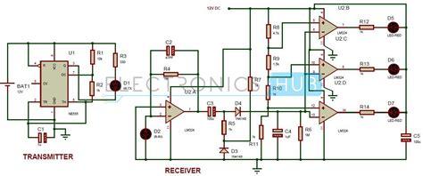 automatic car parking guard circuit report  circuit
