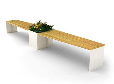 Dimensioni Panchina by Panchina In Legno E Acciaio Elica By Citysi Design