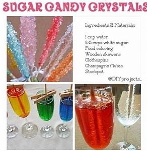 How To Make Ice Crystals From Sugar How To Make Sugar