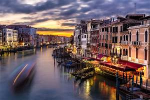 The Beauty Of The Grand Canal In Venice Italy
