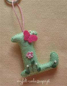 17 best images about alfabetet on pinterest the alphabet With felt letter ornaments