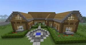 Minecraft maison en bois et en pierre