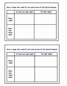 Sorting  Venn And Carroll Diagrams By Sairer