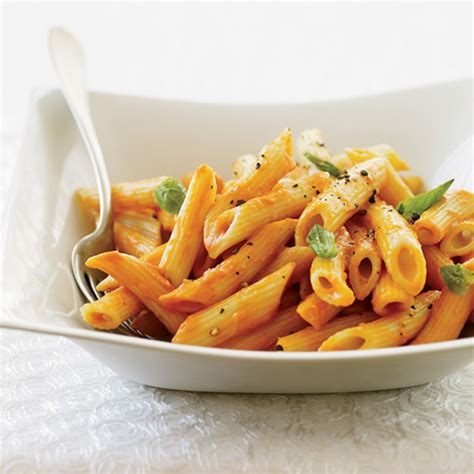 Penne With Triple Tomato Sauce Recipe