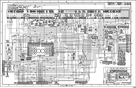 2006 Freightliner M2 Wiring Schematic by 2006 Freightliner M2 Wiring Diagram Electrical Website