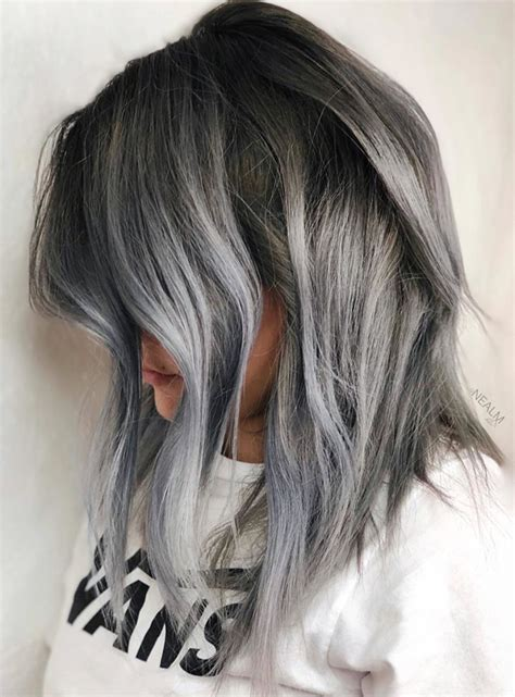 hair color and styles grey hairstyles trend 2018 hairstyles by unixcode 3980