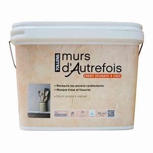 Murs D Autrefois : enduit d coratif murs d 39 autrefois 10 kg tollens castorama ~ Premium-room.com Idées de Décoration