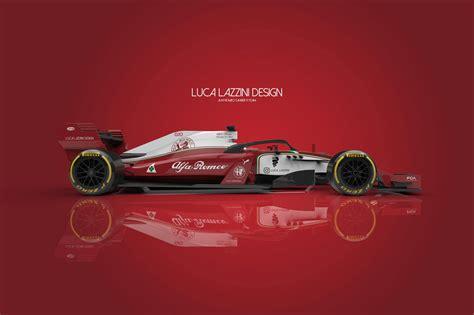 alfa romeo sauber   car concept design formula  news