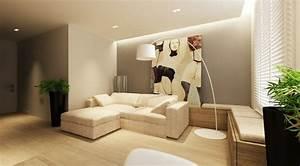 peinture couleur lin pour la deco zen de votre maison With peinture murale interieur maison
