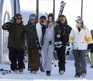 One Direction Blog: Harry und Kendall beim Skifahren