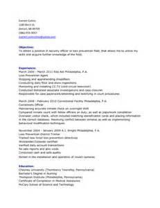 Intelligence Officer Resume Sle by Juvenile Probation Officer Resume Sales Officer Lewesmr