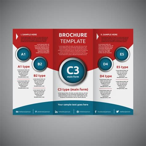 Trifold Brochure Vectors Photos And Psd Files Free Tri Fold Brochure Free Template Trifold Vectors Photos And