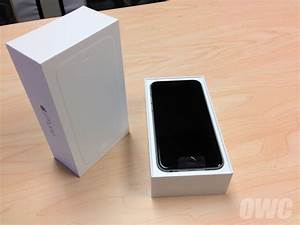 OWC Unboxes 4.7-Inch Model iPhone 6 | Other World ...