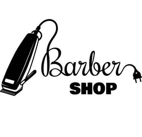 barber logo  salon shop haircut hair cut groom grooming