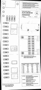 Md 0432  W211 Engine Compartment Fuse Box Schematic Wiring