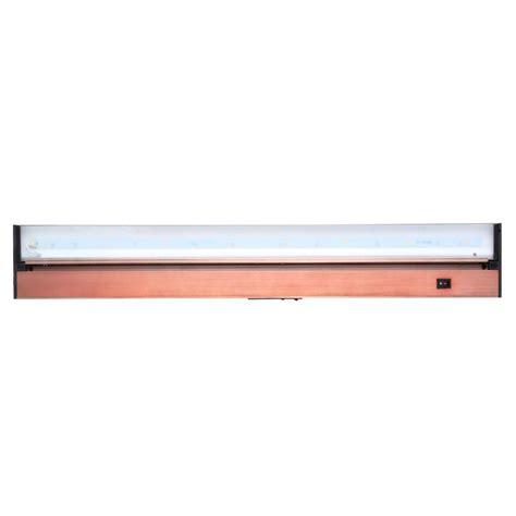 juno pro series led under cabinet lighting juno pro series 30 in brushed bronze led under cabinet
