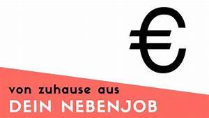 Nebenjob Von Zuhause Aus : nebenjob von zuhause aus geld verdienen youtube ~ A.2002-acura-tl-radio.info Haus und Dekorationen