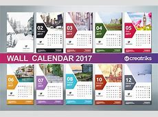Wall Calendar 2017 v008 on Behance